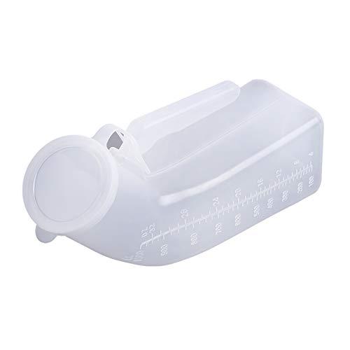 YNGJUENCP Orinales Masculinos para Hombres Orinal De Plástico Portátil Botella De Orina De Viaje 32oz./1000ML