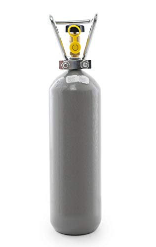 2 kg CO2 Flasche Getränke Gastronomie Kohlensäure E290/Leerflasche/Neue Eigentumsflasche/10 Jahre TÜV ab Herstelldatum/Import