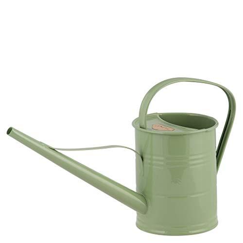 Vintage Home Regadera de metal verde veraniego veraniego verde veraniego 1,5 litros