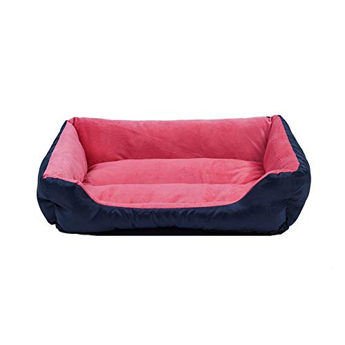 ZISTA - Hondenbed Sofa Big Hondenbed voor Small Medium Large Dog Mats Cat Chihuahua puppy kat-huisdier huis, rood, S