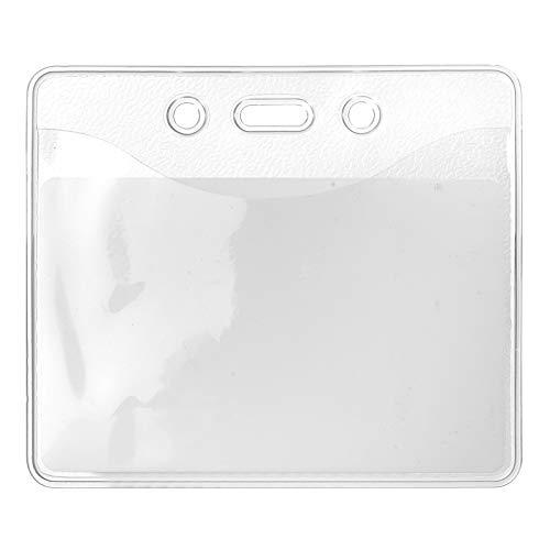 10 x Karteo® Din A7 Ausweishüllen   Kartenhüllen transparent   Ausweishülle (74 x 105 mm)   Kartenhülle horizontal   Kartenhalter aus Vinyl