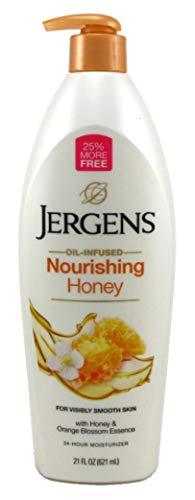 Jergens nutriente Miele lozione per il corpo–la pelle secca idratante 621ml