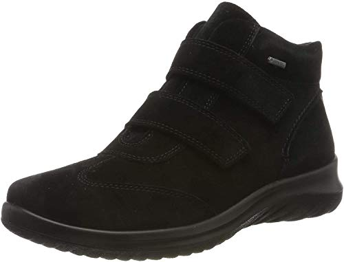 Legero Damen Softboot 4.0 Gore-tex Sneaker, Schwarz (Schwarz (Schwarz (Schwarz) 00)), 38.5 EU