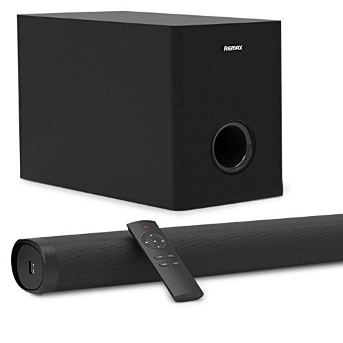 Lowest Price! Soundbar for TV - Mounted Home Theater Audio, Wireless Bluetooth Audio with Line Subwo...