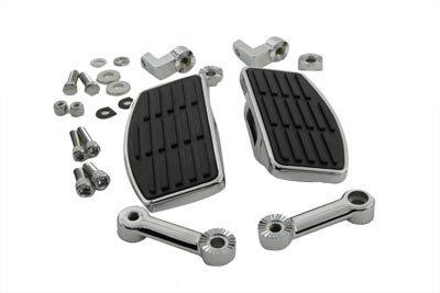 Adjustable Mini Floorboards Male Foot Peg Mount fr Harley Dyna Softail Sportster