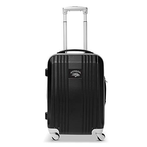 Denco NCAA Nevada Wolfpack Two-Tone Hardcase Luggage Spinner
