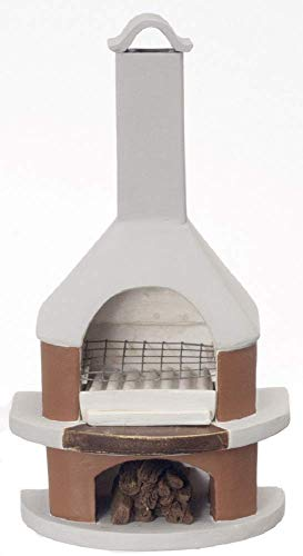 Aztec Imports, Inc. Dollhouse Miniature Cape Cod Outdoor Fireplace