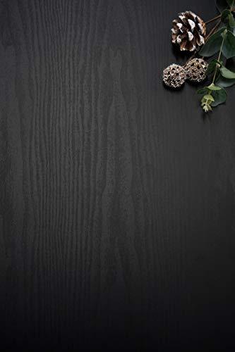 78.7'x17.7'Black Wood Peel and Stick Wall Paper Removable Wallpaper Wood Pure Black Contact Paper Black Wood Self Adhesive Wallpaper Shiplap Wood Grain Wood Plank Distressed Wood Texture Vinyl Roll