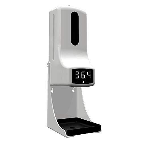 Termómetro de Pared con Dispensador de gel 1000ml 2 en 1 modelo K9 PRO