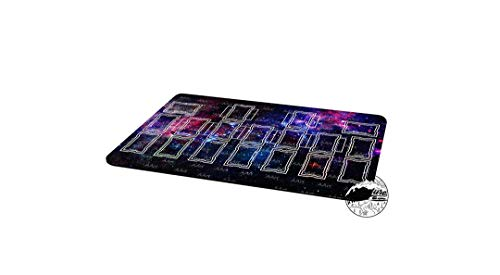 AArt TM Yu-Gi-Oh Starry Night Template 2017 Master Rule 4 Link Zone Playmat TCG Playmat MTG Playmat