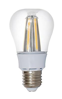 LED Light Bulbs for Home 60 watt Equivalent 8 Watt lights A19 Brightest Bulb Energy Star Soft White Glow Lighting 3000K 810 Lumens 2 Year Warranty