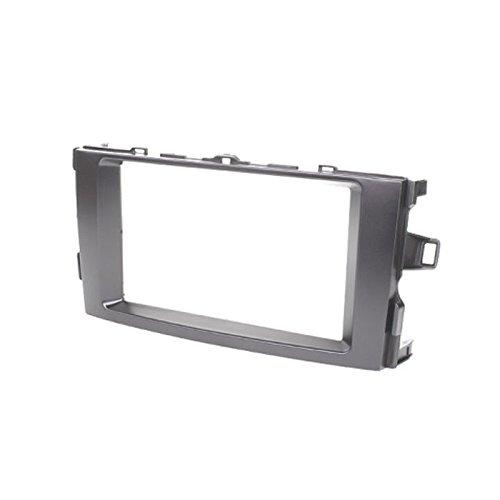 CARAV 11-110 Double DIN Radio stéréo Adaptateur DVD Dash entourée d'installation Kit de Garniture pour Auris 2006-2012/Façade d'autoradio façade d'autoradio avec 173 * 98 mm