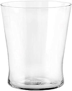 H/&H Set 6 Bicchiere Vetro Alabastro Nero Cl23 arredo tavola