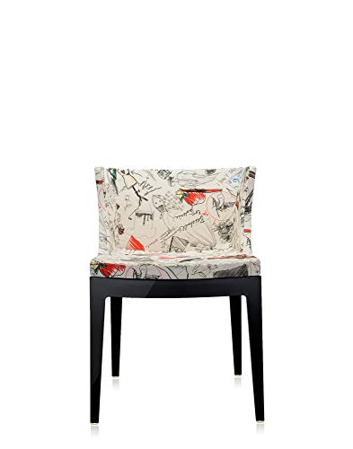 """Kartell Mademoiselle """"à la mode"""" Chair by Philippe Starck, Pack of 1, Moschino Fabrics Sketches"""
