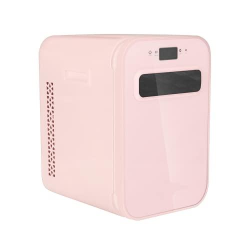 Mxsnow Mini Refrigerador para El Cuidado De La Piel Refrigerador Pequeño para Dormitorio Y Viajes Refrigerador Cosmético Snjiaheim Mini Refrigerador-Pink