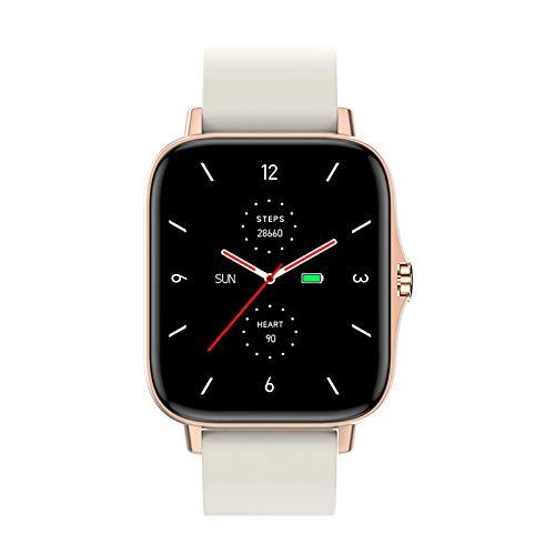 Dray Smartwatch T42,Reloj Inteligente Pulsómetros para Mujer Hombre,Pulsera De Actividad Inteligente Impermeable IP67 con Monitor De Sueño Contador De Caloría Podómetro Cronómetros para Android iOS