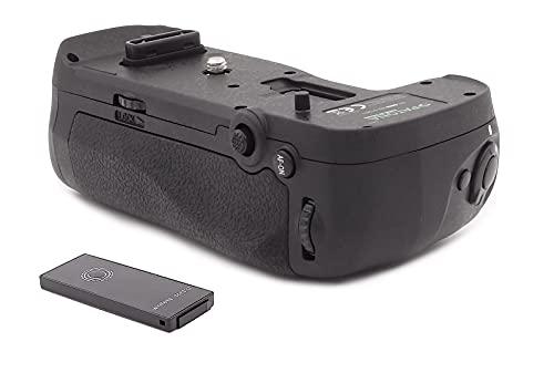 PATONA 1493 - Repuesto para empuñadura de batería Nikon MB-D18 para D850 con mando a distancia IR (compartimento de batería para 1X EN-EL15 o EN-EL18A y 8X AA)