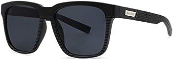 Maxjuli Polarized Sunglasses for Big Heads Men Women