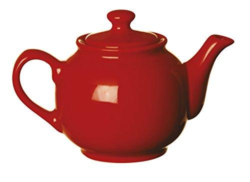 Excelsa 42045 Rojo Tetera - Teteras (Rojo, Cerámico)