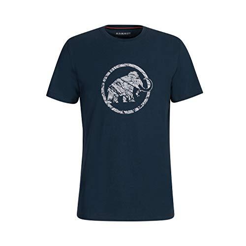 Mammut Herren Logo T-Shirt, Marine, S