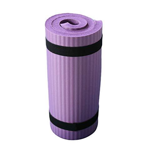 Colchoneta de ejercicios Colchoneta de yoga, almohadilla de rodilla y codo de yoga para Pilates y ejercicio de piso, alta densidad extra gruesa para entrenamiento físico Ejercicio abdominal Popular