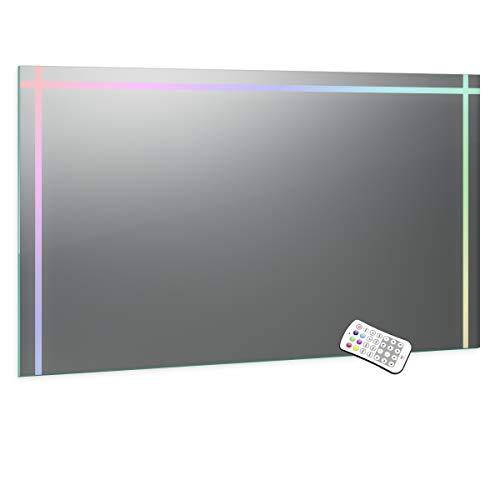 Spiegel ID veela design: LED badkamerspiegel met verlichting - op maat naar keuze - Made in Germany selecteerbaar - Model: 2202508