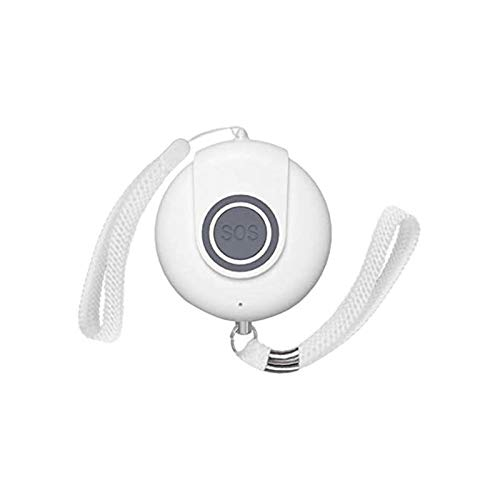 SMLZV Sirens, Sirens Personal Alarm SOS Panic Button for Emergency Elderly SOS Necklace Panic Alarm Button Sound Alert for Old People
