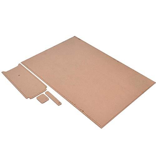 Klares Acryl-Schablonenset Acryl-Brieftaschen-Herstellungswerkzeuge, für DIY-Handwerksfertigung Klare Acryl-Ledermuster-Lederschablonen