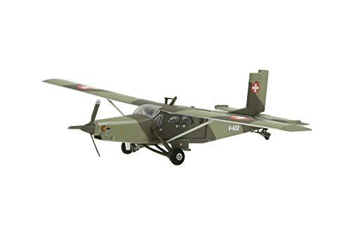 Arwci ACE-1/72 V-632 Pilatus PC-6 Turbo Porter Swiss Air Force Die-Cast, Modelli da Collezione, 881604