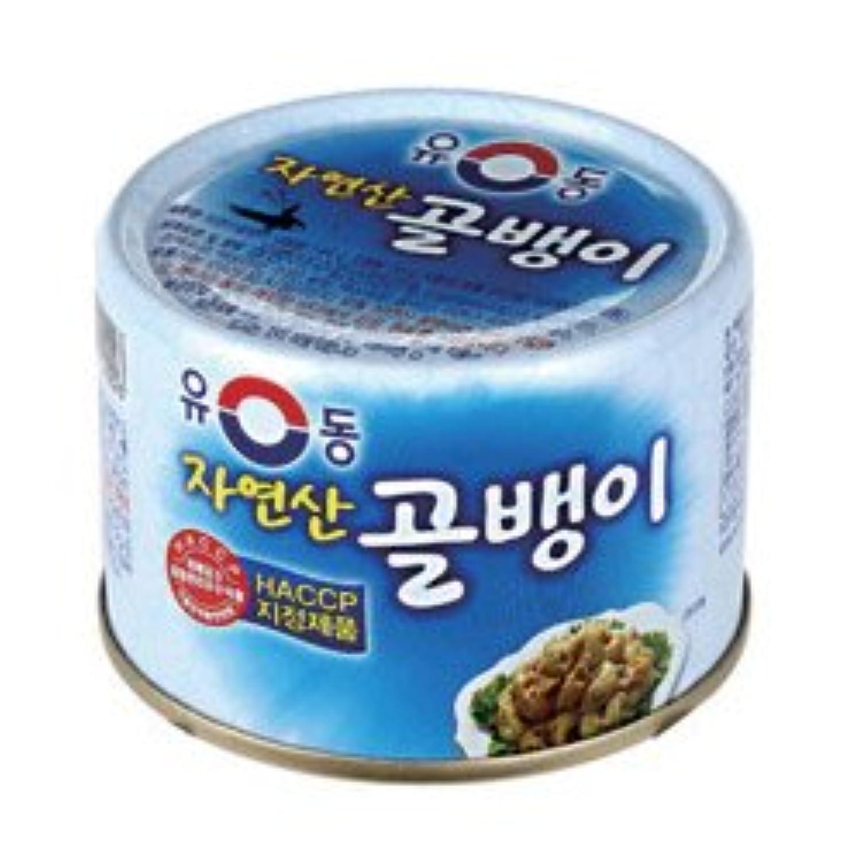ユドン 天然つぶ貝の缶詰 140g