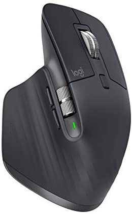 Logitech MX Master 3 Advanced Wireless Mouse for Mac - Bluetooth/USB