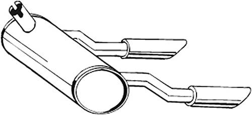 Bosal 185-582 Silencieux arrière