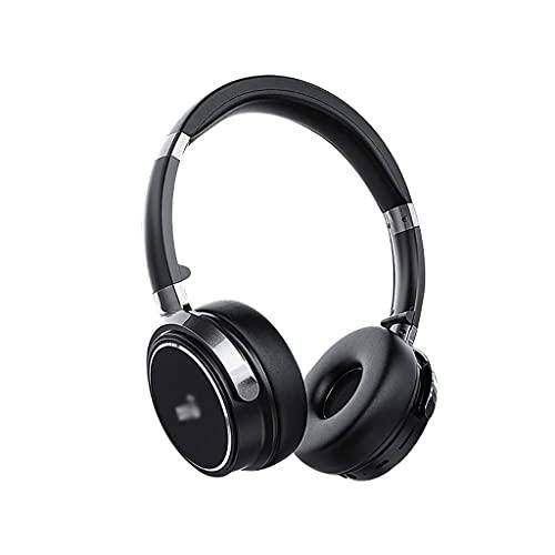 Auriculares Bluetooth sobre Auriculares para la Oreja con cancelación de Ruido Mic TF y Modo cableado 30H Juego de Auriculares Plegables de Tiempo...