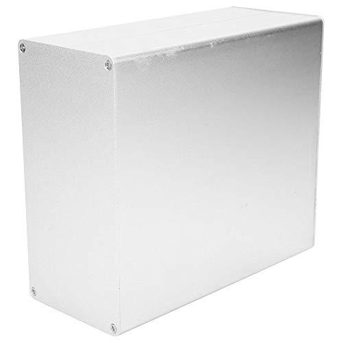 Schönes Aussehen Silber Aluminium Projekt Box, Electronic Enclosure Case, weit verbreitet für elektronische Produkte PCB Junction Aluminium Box