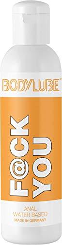 BODYLUBE® F@CK YOU | Gleitgel auf Wasserbasis für den Analbereich | Premiumqualität (500 ml)