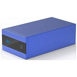 SMSL Sanskrit 10th 32bit/192kHz USB/optical fiber/Coaxial to Analog Audio Decoder Blue