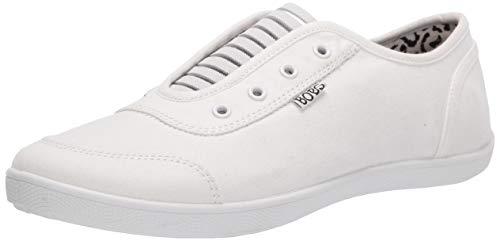 Skechers BOBS Women's Bobs B Cute-Walkways Sneaker, White, 8 M US