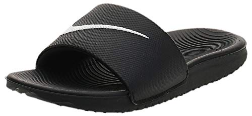Nike Herren KAWA Slide (GS/PS) Dusch-& Badeschuhe, Schwarz (Black/White 001), 38.5 EU