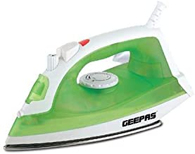 Geepas Steam Iron 1600 Watts,Green - Gsi7783