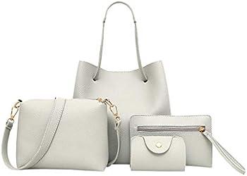 Fankle 4-Piece Women's Tote Bags Set