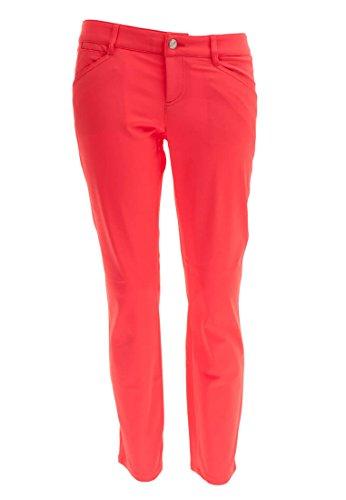 ALBERTO Damen Golfhose Mona 3xDry, Größe:40, Farbe:Rot(352)