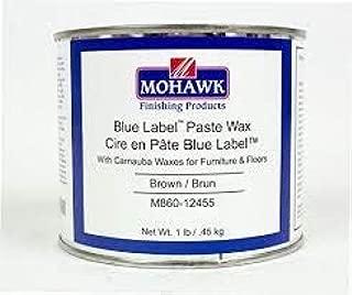 Blue Label Paste Wax Brown 1 LB
