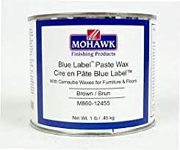 Blue Label Paste Wax Brown 1 LB