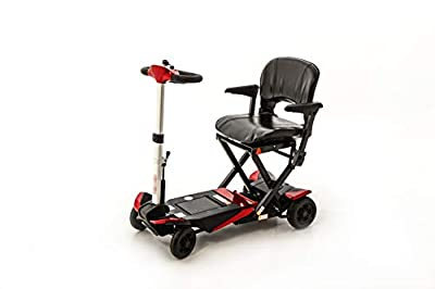 Monarch Smarti Folding Mobility Scooter (red)