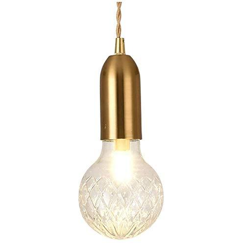 HSLJ1 G9 metal del oro de luz colgante, ajustable bola hecha a mano pendiente de la luz de la lámpara Mini creativo for la Vida Corredor Buhardilla restaurante Isla de cocina Decoración Iluminación