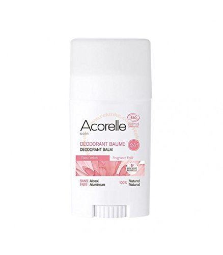 Acorelle Desodorante Bálsamo sin perfume-40g