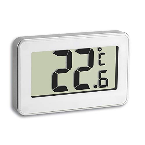 TFA Dostmann Digitales Thermometer, vielseitig einsetzbar, Temperaturmessung im Kühlschrank, gut ablesbar
