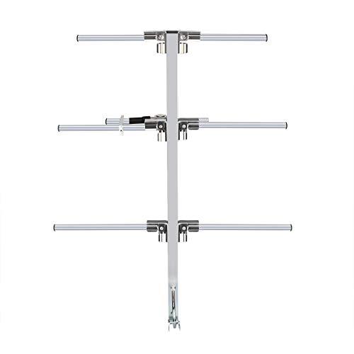 Ailunce AY02 Yagi Antena Direccional Plegable UHF Hembra 7 dBi Alta Ganancia Larga Distancia Compatible con Ailunce HD1 Compatible con Retevis RT5R RT3S TYT MD-380 Baofeng UV-5R (1Pieza)