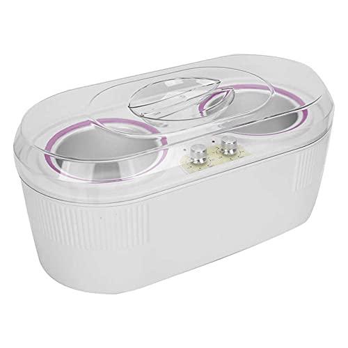 LYHD Calentador de Cera eléctrico Olla Antiadherente Calentador de Cera Depilación Facial Bikini para el hogar Accesorios de depilación para el Cuerpo y el Vello Facial