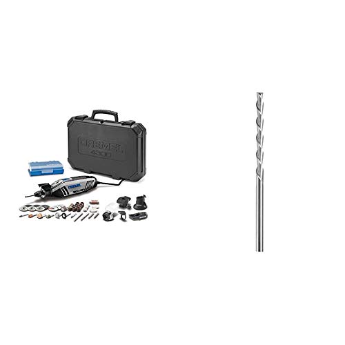 Dremel 4300-5/40 High Performance Rotary Tool Kit with LED Light- 5 Attachments & 40 Accessories- Engraver, Sander, and Polisher & 561 Multipurpose Cutting Bit